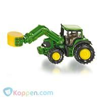 SIKU Tractor met Balen Grijper -  Koppen.com