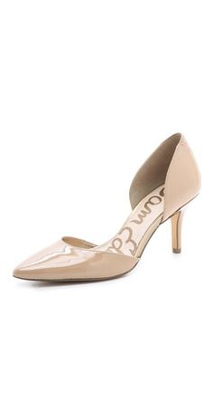 You'd be trying on some classy, classic pumps. Funny how you get extra respect when you put these on yer feets!