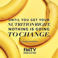 Nourishing your body with the right foods is so important, literally, the food you eat becomes you! It's never too late to take control of your health ✨✌ #FMTV #foodmatters