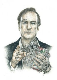 Inked Ikons Characters poster prints by Wayne Maguire Breaking Bad Saul, Breaking Bad Tattoo, Serie Breaking Bad, Saul Goodman, Dont Drink And Drive, Marijuana Art, Bad Art, Pop Culture Art, Soul Art