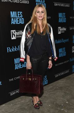 Olivia Palermo - The Cinema Society with Ketel One and Robb Report Host a Screening of Sony Pictures Classics' 'Miles Ahead' - March 23, 2016