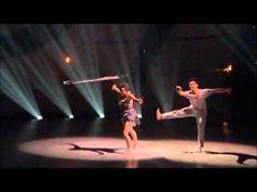 "Melanie and Marko light bulb dance - Dee Caspary piece to ""Skin & Bones"" by David J. Roch"