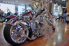 Republic Harley Custom Bike Show by WillBluff, via Flickr