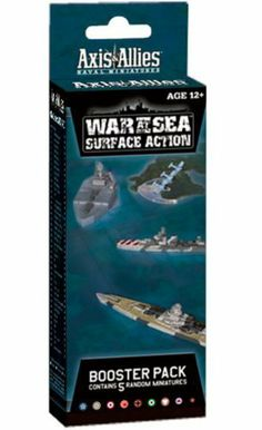 War at Sea: Surface Action: An Axis & Allies Naval Miniatures Booster Expansion (Axis & Allies Miniatures) by Wizards Miniatures Team. Save 32 Off!. $10.87. Publisher: Wizards of the Coast; Brdgm edition (November 15, 2011). Series - Axis & Allies Miniatures