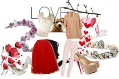 """Puppy Love"" by mytrollbeads on Polyvore"