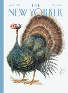 Peter de Seve created the single best Thanksgiving image ever.