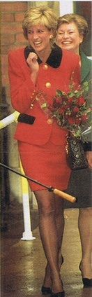 Princess Diana, Queen of Hearts