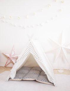 Dog tent scandinavian style