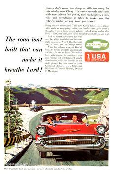 1957 Chevrolet - Original Ad