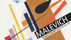 Malevich Exhibition poster