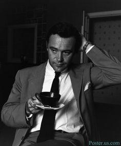 Jack Lemmon Drinking #Tea