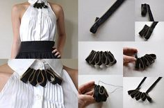 Lovely Zipper Necklace – DIY tutorial