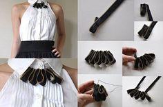 Lovely Zipper Necklace – DIY tutorial