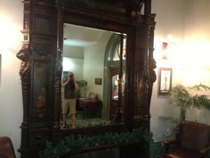 The massive mirror Herbert Hoover shipped over for his sweetheart - located at the Palace Hotel in Herbert Hoover, Palace Hotel, Western Australia, Bouldering, Oversized Mirror, City, Places, House, Home