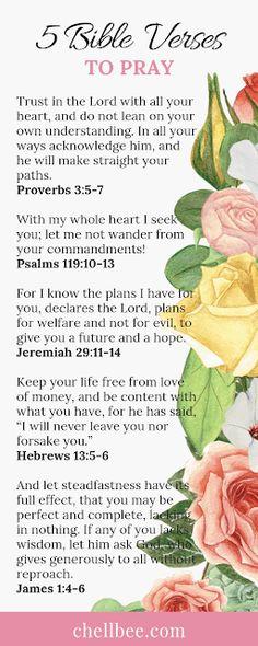 5 Bible Verses to Pray Scriptures On Purpose, Purpose Quotes, Life Purpose, Bible Scriptures, Bible Quotes, Motivational Bible Verses, Scripture Verses, Christian Living, Christian Women