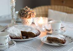 Gâteau de Payerne - ein einfaches Kuchenrezept für spontanen Herbstbesuch!
