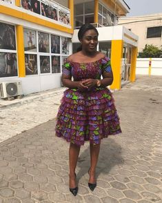 Every fashionable lady would love to be seen in the Latest Ankara Gown Styles. The creativity of Nigerian fashion designers brings hundreds of Ankara styles to life. African Inspired Fashion, Latest African Fashion Dresses, African Dresses For Women, African Print Dresses, African Print Fashion, African Attire, African Wear, Women's Fashion Dresses, African Prints