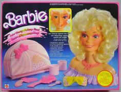 The Barbie Head - I played with this for hours until I melted half her hair with a blow-dryer.