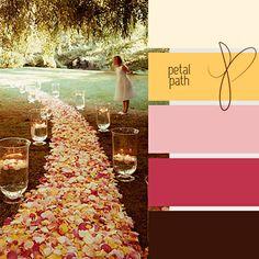petal path - love these colors