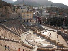 Teatro Romano en Cartagena #Cartagena #spain