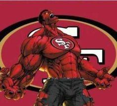 #49ers Hulk