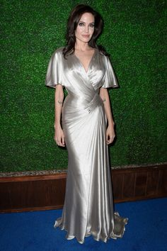 Angelina Jolie in Atelier Versace @ The Critic's Choice Awards - She stole the show!   - HarpersBAZAAR.com