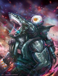 King Shark, Shark Man, Aliens, Character Art, Character Design, Creature Concept, Sea Monsters, Creature Design, Gi Joe