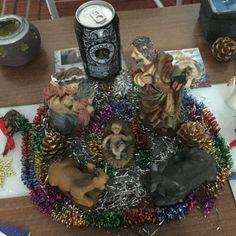 Fotografía participante en el concurso 'Ya es Navidad en Mondariz' realizado en el perfil de Facebook de Aguas de Mondariz.  Autoría: Carolina Roger Manzano