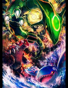 pokemon-Legendary-pokemon- Ruby-Sapphire-Emerald-huyen-thoai … – World Of Games Pokemon Mew, Evoluções Eevee, Groudon Pokemon, Pokemon Legal, Pokemon Dragon, Pikachu Art, Pokemon Fan Art, Pokemon Cards, Charizard