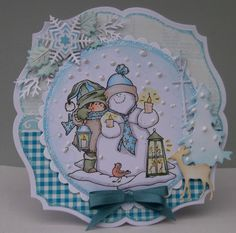 ink'n'rubba: Snoesjes and the Snowman