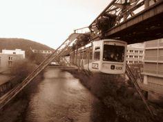 Die Wuppertaler Schwebebahn in   #infrastructure #wuppertaler #schwebebahn #photography