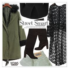 """""""Yoins"""" by teoecar ❤ liked on Polyvore featuring L'Agence, yoins, yoinscollection and loveyoins"""