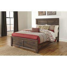 Quinden Panel Bed