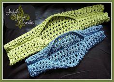 Easy Breezy Shrug pattern on Craftsy.com  FREE PATTERN from Joyful Yarns Crochet