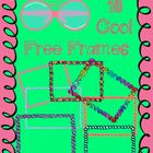 These are ten free doodle frames you can use for personal or commercial use.   Please give credit to myself and provide a link back to my TpT Store...