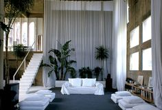 Ricardo Bofill Converted Cement Factory into Home Office | Trendland: Fashion Blog & Trend Magazine