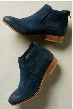 3b993f967923f Chelsea ❤ Navy Ankle Boots