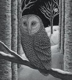 Diane Kremmer - 'By the Light of the Moon'  2007