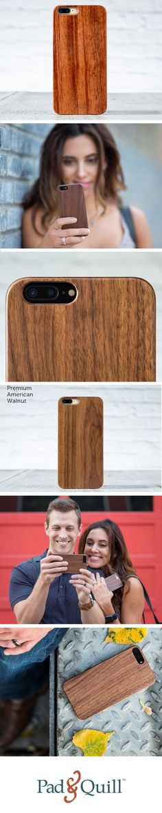 Want a beautiful wooden case that won't slip out of your hands? The Timberline for the iPhone has a discreet grippy edge that will keep the case firmly in your hands while also protecting it. The reinforced polycarbonate shell is the muscle and the real luxuriant hardwood is the beauty.