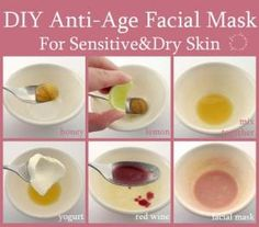 Masks My latest Musely find blew my mind: Diy Anti Age Facial Mask For Sensitive & Dry Skin