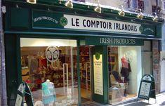 20 Idees De Boutiques De Bordeaux Devanture Boutique Comptoir Irlandais