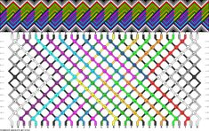 Learn to make your own colorful bracelets of threads or yarn. Bracelet Knots, Macrame Bracelets, Friendship Bracelets Designs, Bracelet Designs, Rainbow Loom, Colorful Bracelets, Bracelet Tutorial, Cute Crafts, Hobbies And Crafts