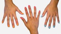 Como escolher o formato e a cor das suas unhas