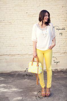 Amarelo! ♥