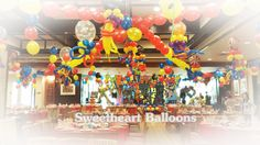 "Sweetheart Balloons, where joyful thoughts and delightful happenings all come hand in hand.  Sweetheart Balloons has made a name for generations with only one thing in mind, ""Total customer satisfaction"".  823 Salazar Street Binondo, Manila,  Jevon G. Tan  Tel No. (02) 524-9882 (02) 241-9917  (02) 985-0078 (02) 215-9970  Mobile:  Sun: 09228908682  Globe: 09178908628  Smart: 09209266448 Balloon Clusters, Balloon Ceiling, Sleepless Nights, Happenings, Manila, Save Yourself, Joyful, Globe, Balloons"