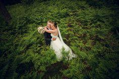 Merethe & Endre ble årets brudepar i Designforevig og vant filmteam til bryllupet sitt. <3