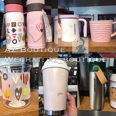 Starbucks Valentine's Day limited edition mugs #Starbucks #valentineday #mug #japan by az_boutique