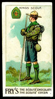Trade Card - Boy Scout - Kings Scout by cigcardpix, via Flickr