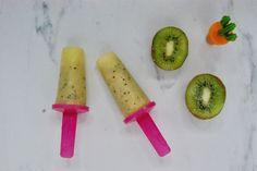 Sucettes glacées aux kiwis Kiwi, Pineapple, Vegan, Fruit, Food, Ice Pops, Pinecone, Meal, Pine Apple