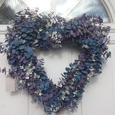 Home wall art décor is trendy, cute and stylish. You can use all different types of #home wall  art decorations to create a warm and inviting space. Furthermore, you can combine different shaped  wall #art styles to give your #wall texture depth       Frozen Love Heart Shaped Eucalyptus Wreath 17 Inch #interiordecorstylestypesof